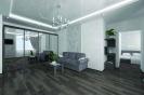 Перспективный объемный вид гостиной<br>Проект, дизайн квартиры, дизайн-проект, дизайн интерьера